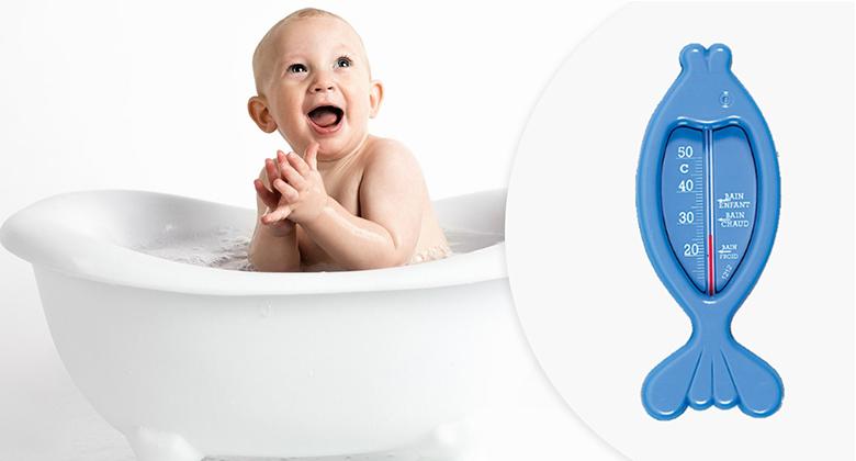 Thermomètre de bain de bébé