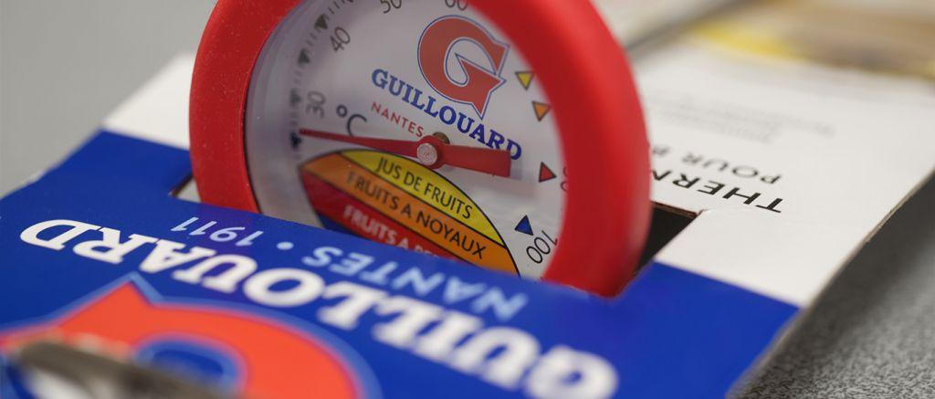 Thermomètre avec marquage